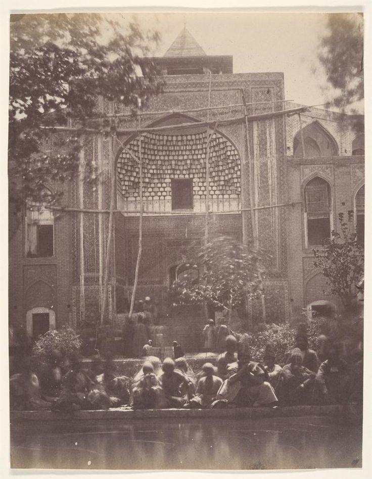 Luigi Pesce, Mosque of Qom, Iran, c. 1840s-1860s *