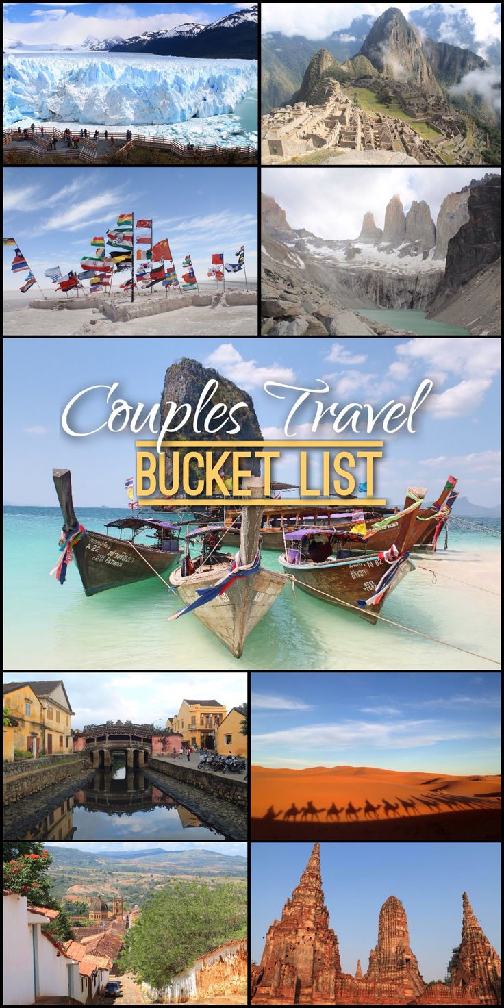 Travelling together as a couple is a big step in a relationship. It gives you the chance to see the world through each other's eyes and to create lasting memories that you will forever cherish.  As an inspiration for other couples who plan to travel together or seasoned travel couples who are in search for new items to add to their itinerary, here are some top experiences to add to your couples travel bucket list: