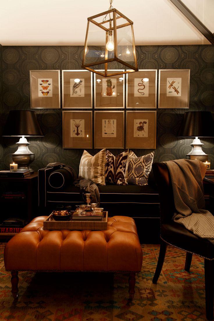 Portfolio interior design diane bergeron interiors - Featured Here Porter S Collection Nairobi Dusk Wallpaper In Twilight Available At Sydney Harbour