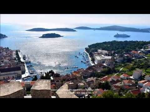The Hvar Fortica Spanjola has spectacular views of the town and harbour.  For more port reviews, photo tours and travel videos, visit our page here:http://luxurytravelboutique.cruiseholidays.com/travelogues/windstar-cruises-venetian-passages.aspx