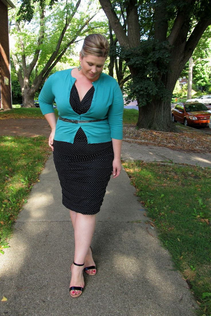 Black dress and cardigan - Find This Pin And More On Styling Clothes Cardigan Crazy Chic