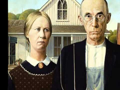 This is great for the little kids!  A video in the point of view of the subjects of the painting all while telling information about the painting, the time period, and Grant Wood... in only 2 1/2 minutes... although I've never met someone from Iowa with that  kind of accent.
