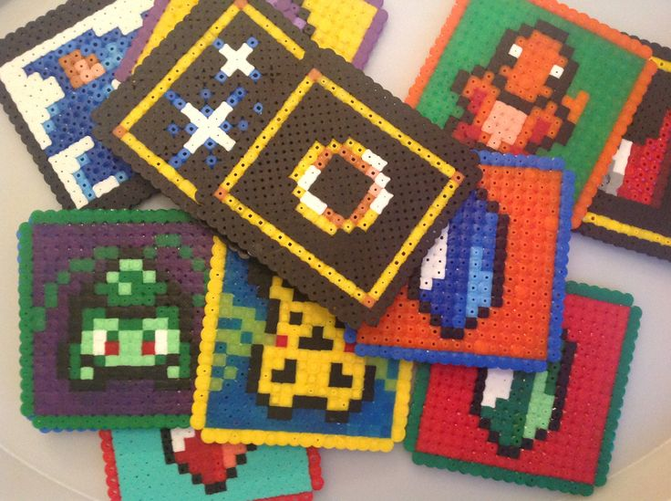 Pixel Art Coasters by Obsolete Gaming