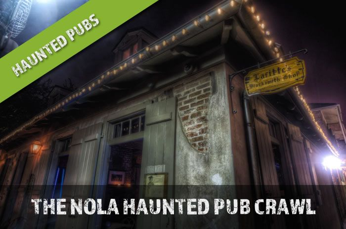 The New Orleans Haunted Pub Crawl Tour