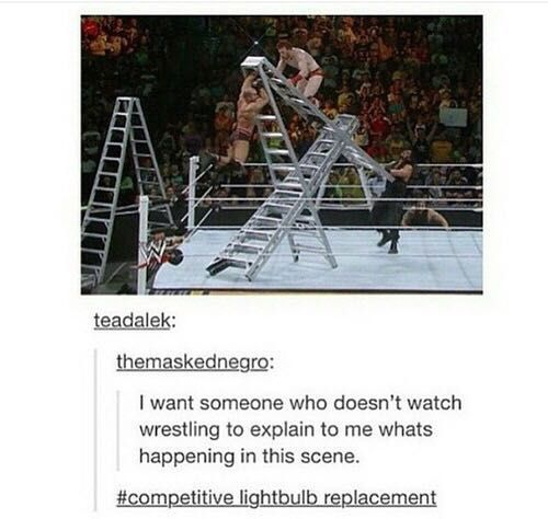 WWE Funny Pictures - Whats happening? - Wattpad