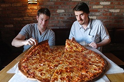 Three of the world's largest pizzas you can buy are in the U.S. Awesome!