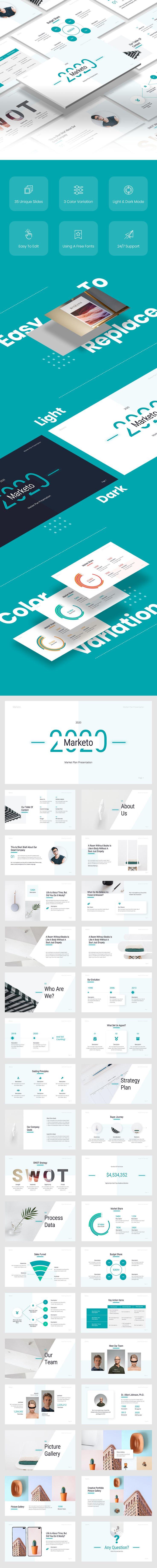 Marketo - Marketing Google Slide