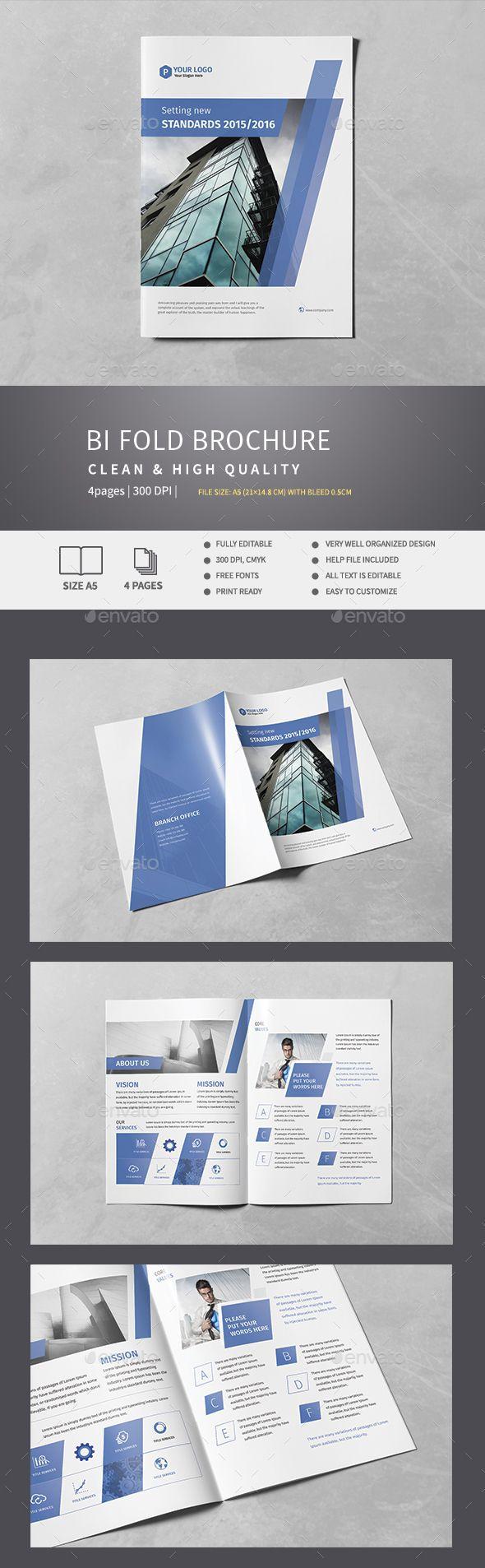 Corporate Bi-Fold Brochure v.5