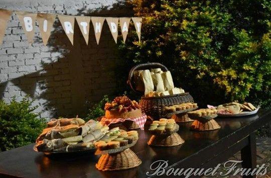 Buffet picnic