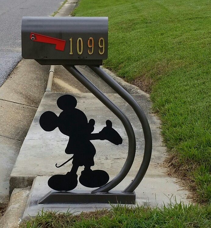 Mickey Mouse Mail Box At Home With Mickey Pinterest