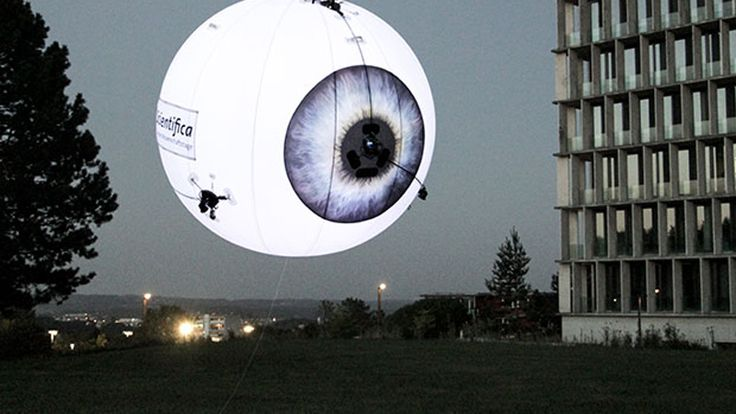 Flying Drone Billboards Are the Future We Deserve