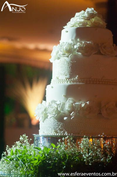 Detalhe do lindo bolo