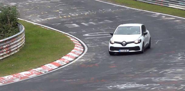 Spyshot : The new Renault Clio 4 RS @ Nürburgring