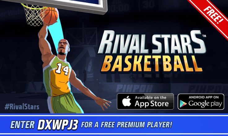 You've been invited to a Basketball paradise! Download now: http://ppok.me/bbl?c=so #RivalStars  #basketball #free #games