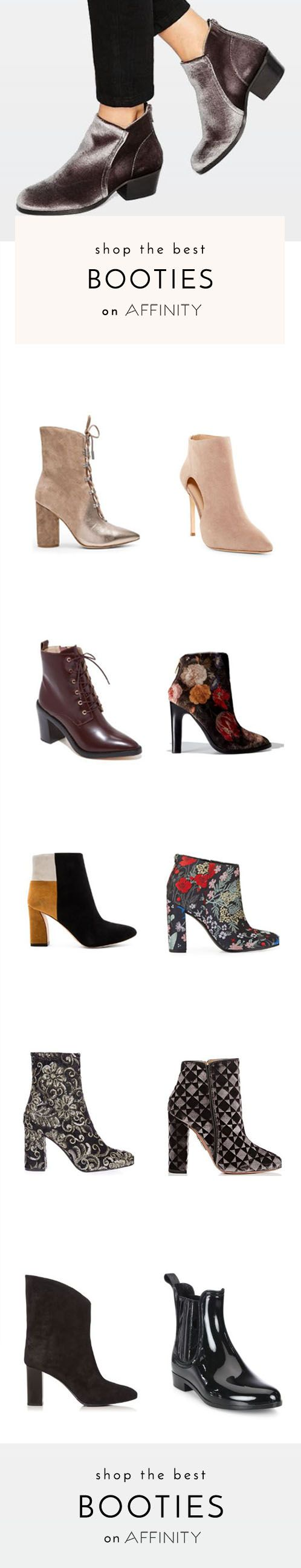 Booties are the perfect shoes for cold-weather months. So if you don't have a go-to pair (or two!) in your closet yet, check out our selection of the best ankle boots of the season – from high heel to flats and classic to trendy.