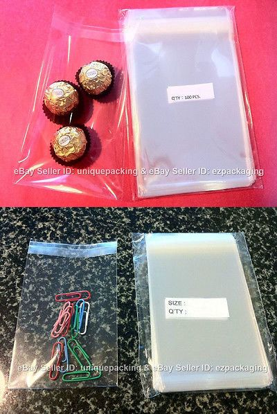 Cellophane 170102 300 Pcs 4 1 X 6 8 Clear Resealable Cello Poly Bags For 4x6 Prints It Now Only 14 95 On Ebay