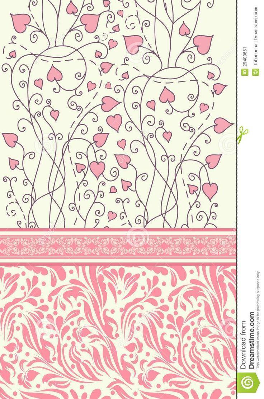 vintage vector | Vintage background for invitation card vector eps 10.