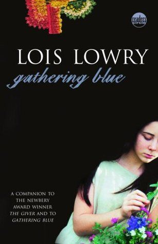 Gathering Blue (The Giver #2) by Lois Lowry. This book does not continue the story of The Giver but rather takes place in a different type of society in the same world.