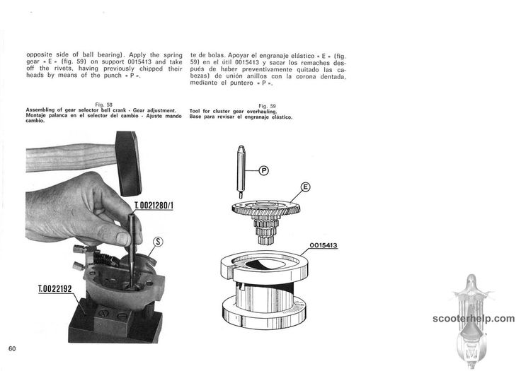 Wiring Diagram For Vespa P200e : Vespa p e wiring diagram get free image