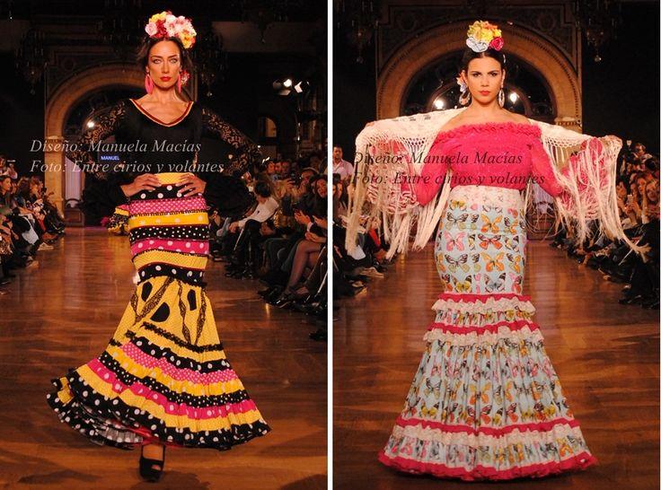 A vueltas con las faldas y camisas para Feria 2015 | Moda Flamenca por Claudia Alfaro vía Entre Cirios y Volantes.