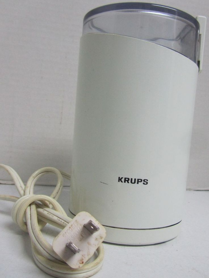 Krups 203b compact coffeespice grinder mill stainless