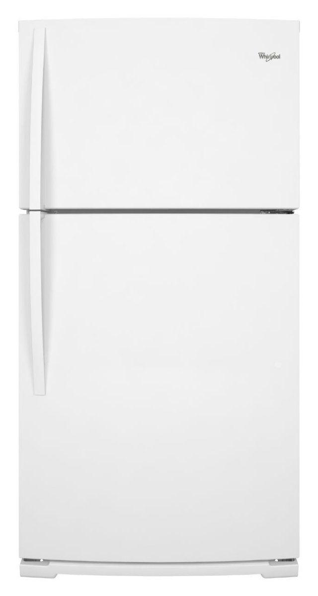 Whirlpool WRT351SFYW 21.1 Cu. Ft. White Top Freezer Refrigerator - Energy Star