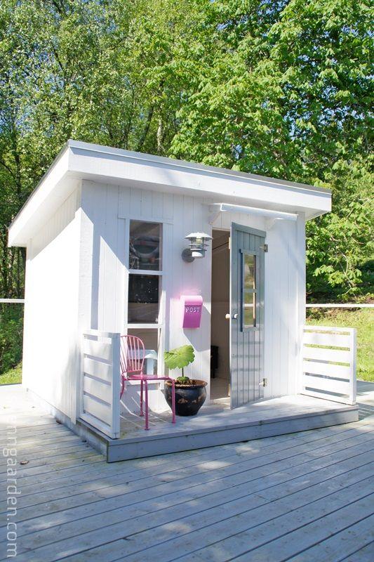 Nyvasket og fin hytte er viktig når sesongen har kommet godt i gang.   Jentene storkoser seg i hytta si og ekstra stas er det at den har ...