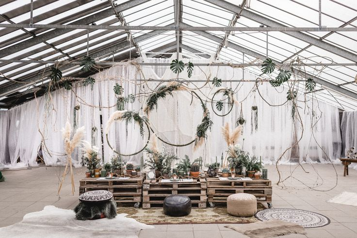 Hochzeitstrend 2017 Industrial und Urban greenery im Bohemian Stil - Urban goes Green – Brautshooting 2017 | Hochzeitsblog The Little Wedding Corner