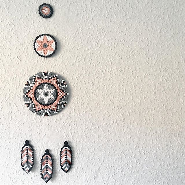 Dreamcatcher hama beads by leantropisk