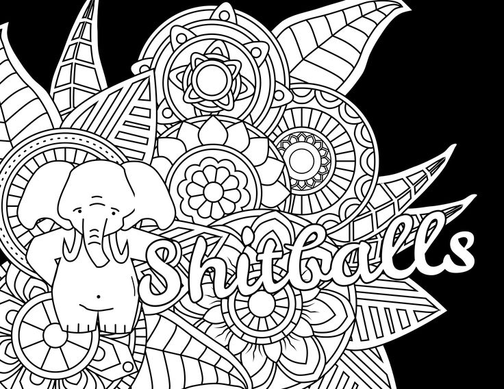 179 best Swear Words Coloring Pages images on Pinterest | Coloring ...
