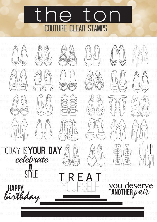 One can never have enough shoes! Now you can stamp a couture shoe wardrobe and…