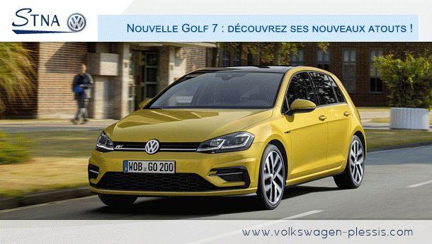 Nouvelle Golf 7 : découvrez ses nouveaux atouts !  #Volskwagen #golf #Voiture #citadine