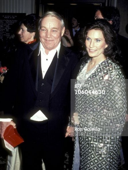 Loretta Lynn Images Of Husband | Caption: Loretta Lynn and husband Oliver Mooney' Lynn, Jr. during 53rd ...