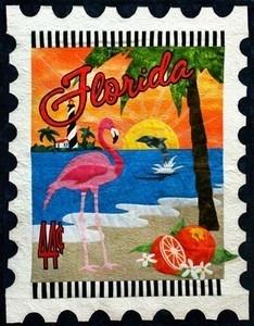 Pink Flamingo Panama City Beach Florida