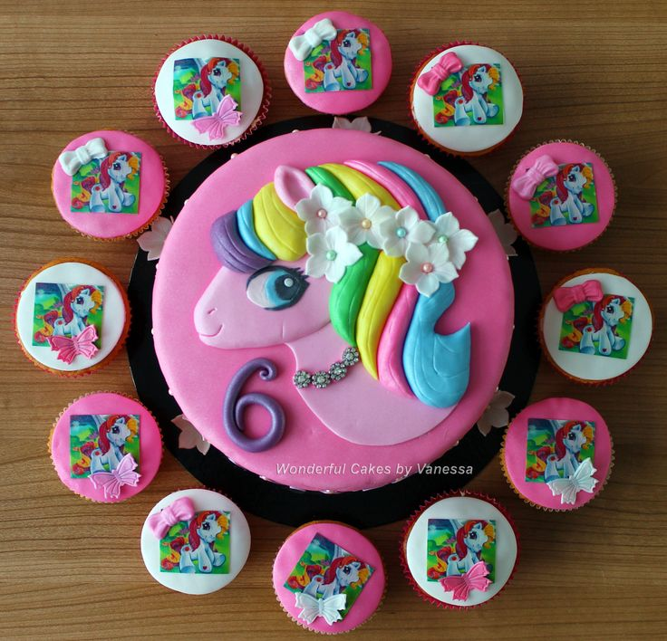 - My Little Pony cake my little pony cake birthday party cake girl pink blue rainbow cookie cupcake