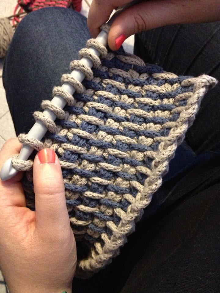Chunky tunisian crochet                                                                                                                                                     More