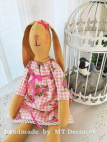 Bábiky - Zajka - zajačica - 6642038_