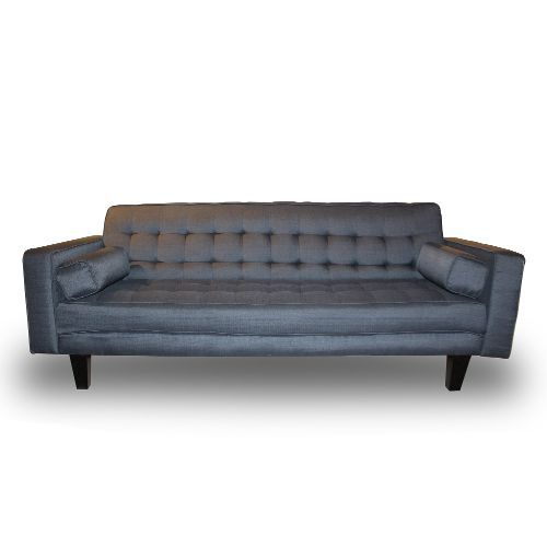 Lazy Boy Sofa Sleeper Sofa Coaster Futon Sofa Bed with Removable Arm Rests Brown Vinyl by Coaster