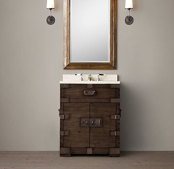 17 best images about small powder room ideas on pinterest for Powder room vanity sink