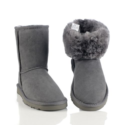UGGs Clearance Classic Short Boots 5825 Grey Cheap Sale Free Shipping