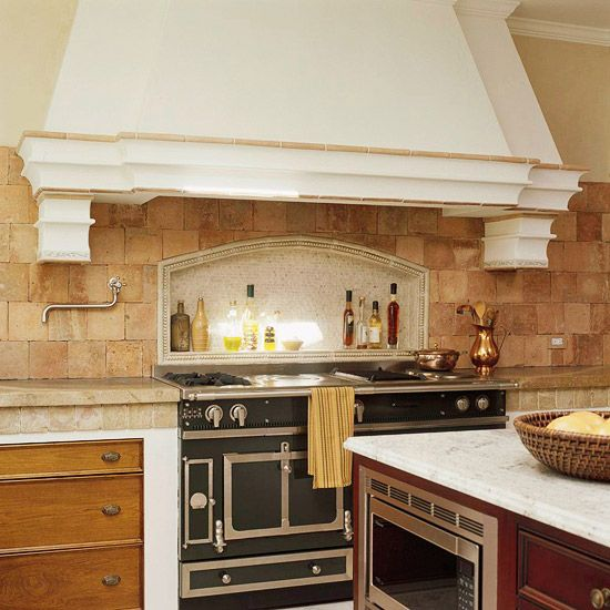 17 Tempting Tile Backsplash Ideas For Behind The Stove: 17 Best Ideas About Limestone Pavers On Pinterest