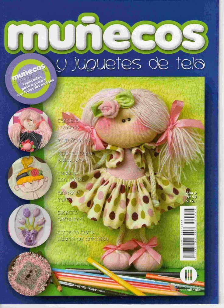 Revistas de manualidades gratis: como hacer una muñeca de tela
