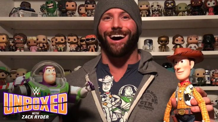 Zack Ryder's got friends in these Toy Story Signature Collection figures...