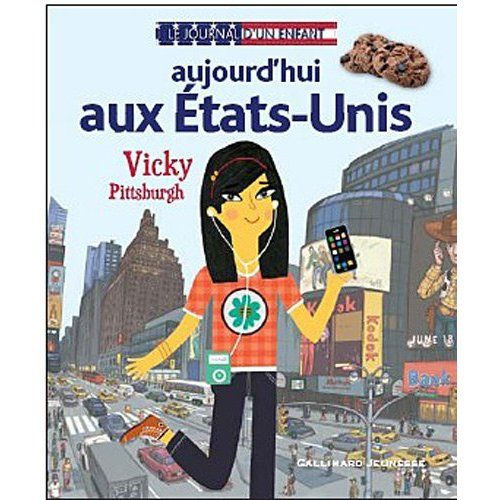 Le journal d'un enfant is a book series about kids in different countries. Great for learning about culture.