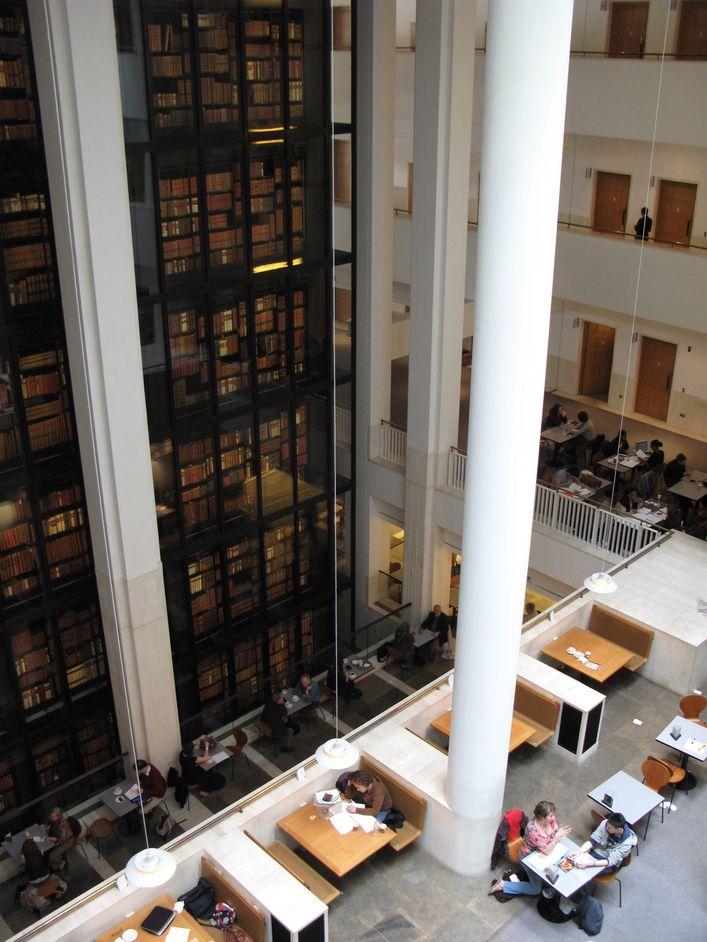 Британская библиотека. #Library #Libraries