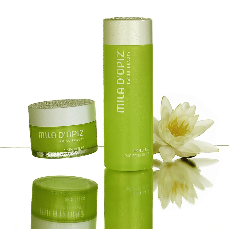 Mila d'Opiz Australia - Skin Clear. Swiss Purifying Care. Specifically developed for impure or large pore skin.