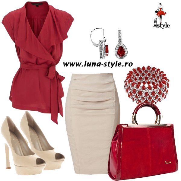 Red`s my monday color