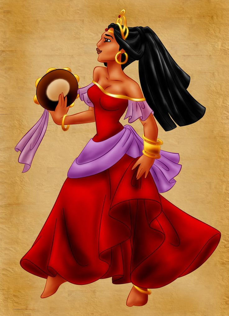 Esmeralda Disney Disney Princess Esmeralda As A Princess