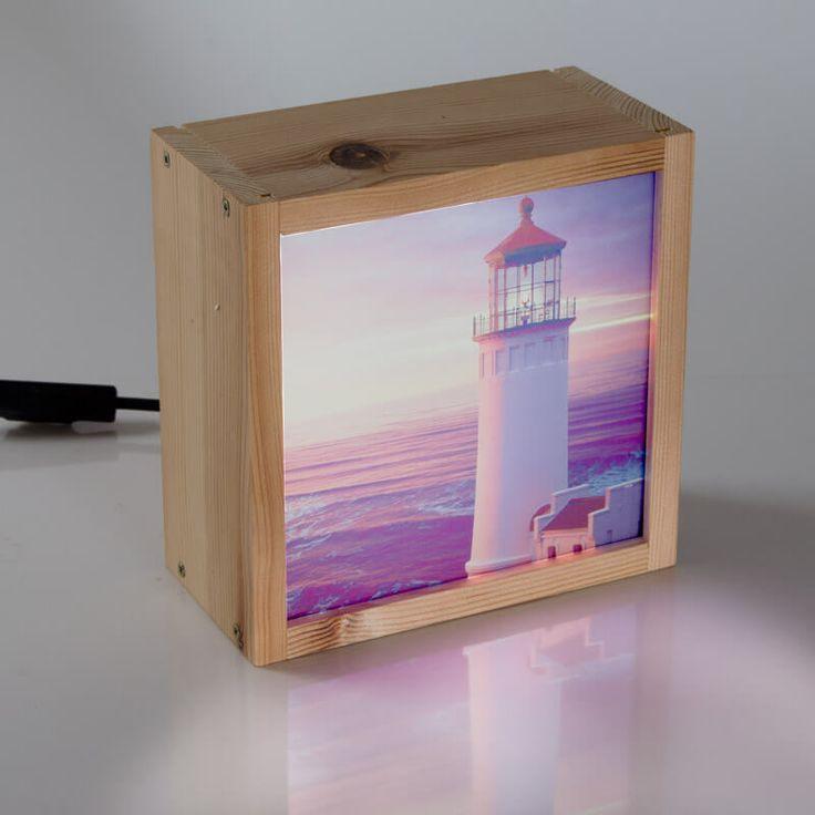 Personaliza tu caja de luz con la foto que más te guste y dale luz