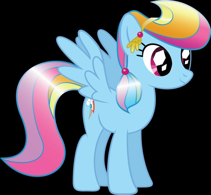 My Little Pony Friendship Magic Rainbow Dash Crystal